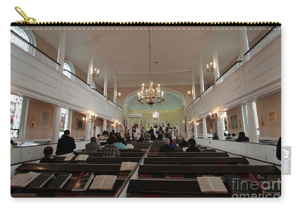 Inside The St. Georges Episcopal Anglican Church Carry-all Pouch