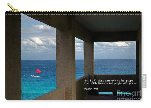 Inspirational - Picture Windows Carry-all Pouch