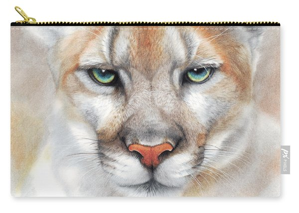 Intensity - Mountain Lion - Puma Carry-all Pouch