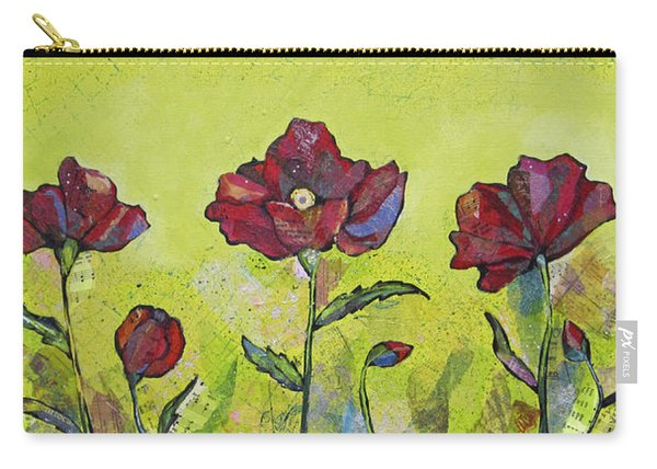 Intensity Of The Poppy I Carry-all Pouch