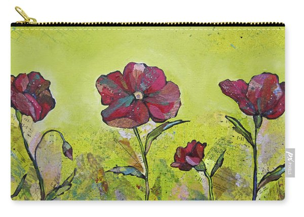 Intensity Of The Poppy II Carry-all Pouch