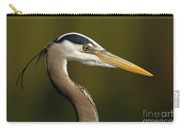 Intensity Of A Heron Carry-all Pouch