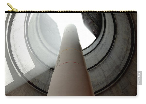 Intercontinental Ballistic Missile Silo Carry-all Pouch