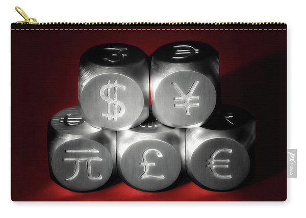 International Currency Symbols II Carry-all Pouch