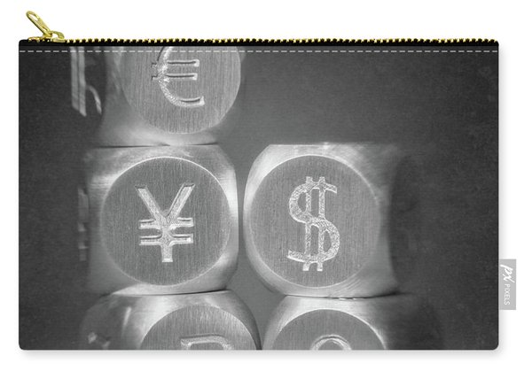 International Currency Symbols Carry-all Pouch