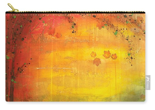 Into Fall - Tree Series Carry-all Pouch