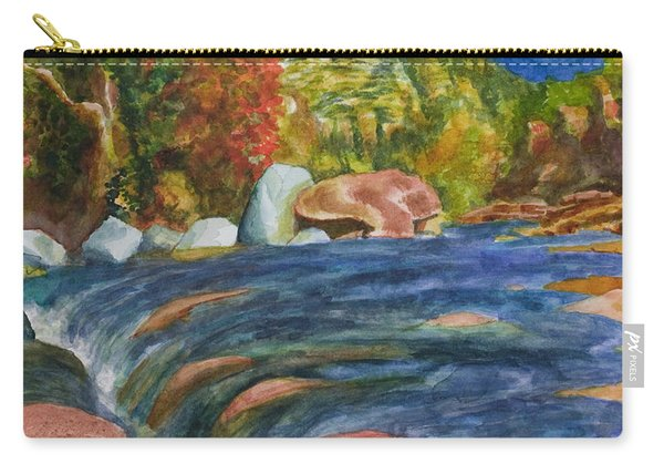 Into Slide Rock Carry-all Pouch