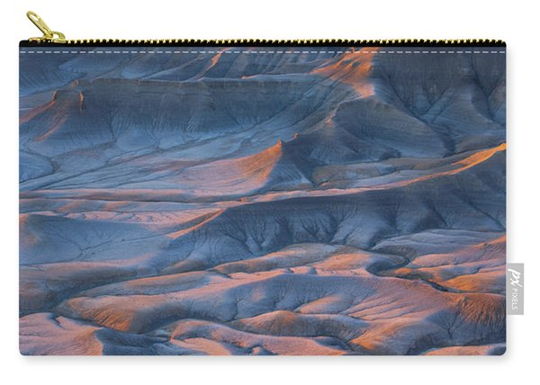 Carry-all Pouch featuring the photograph Into The Badlands by Dustin  LeFevre