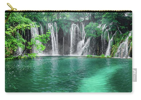 Into The Waterfalls - Plitvice Lakes National Park Croatia Carry-all Pouch