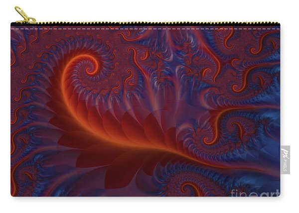 Into The Flames Carry-all Pouch