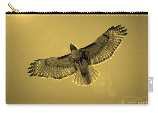 Into The Light - Sepia Carry-all Pouch