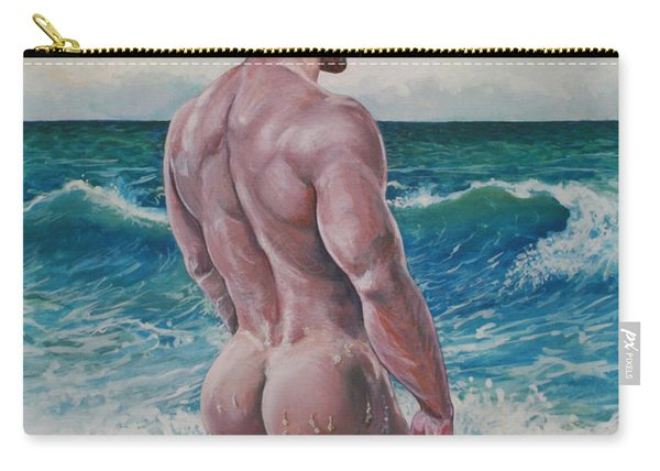 Into The Waves Carry-all Pouch