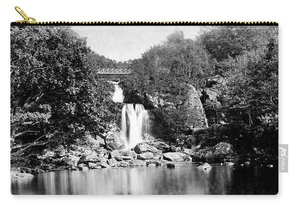 Inversnaid Falls From The Lock L Lomond Carry-all Pouch