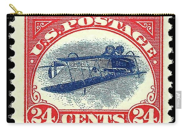 Inverted Jenny, 24 Cent Stamp, 1918 Carry-all Pouch