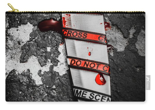 Investigation Of Cross Examination Carry-all Pouch