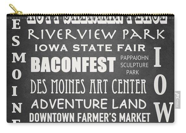Iowa Famous Landmarks Carry-all Pouch