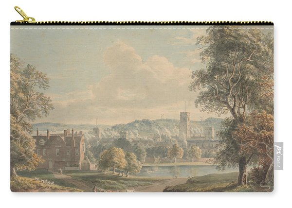 Ipswich From The Grounds Of Christchurch Mansion Carry-all Pouch