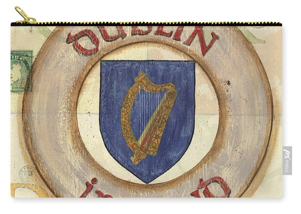 Ireland Coat Of Arms Carry-all Pouch