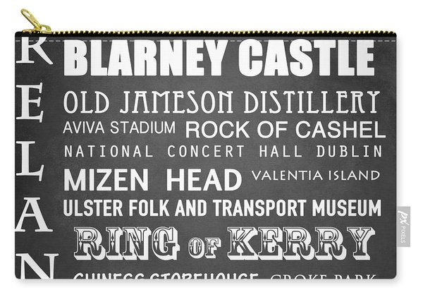 Ireland Famous Landmarks Carry-all Pouch