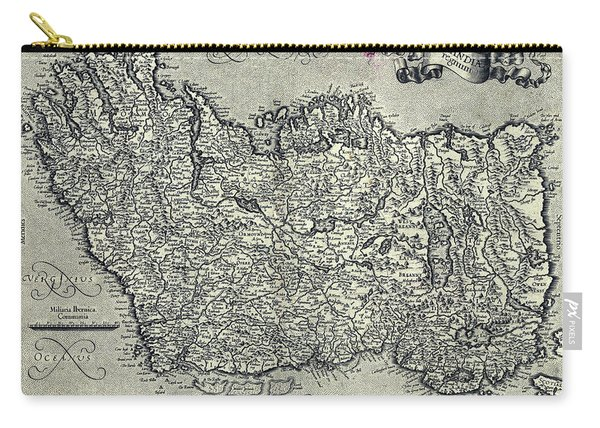 Ireland Map Ca 1635 Carry-all Pouch
