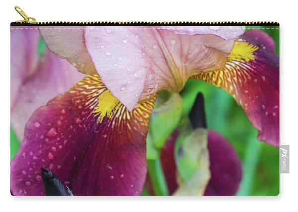 Iriis After Rain Carry-all Pouch