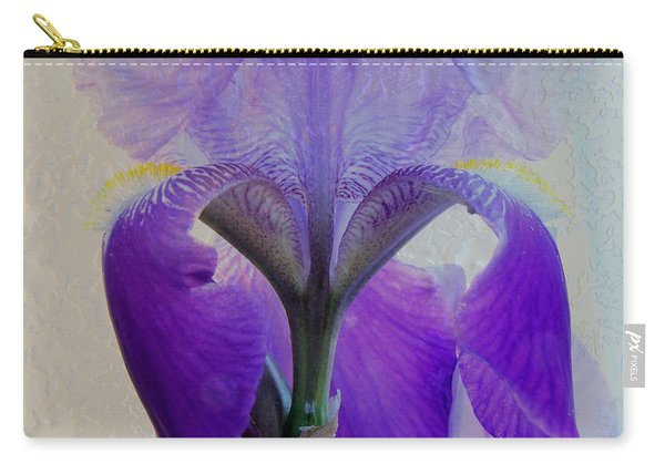 Iris And Ice Carry-all Pouch