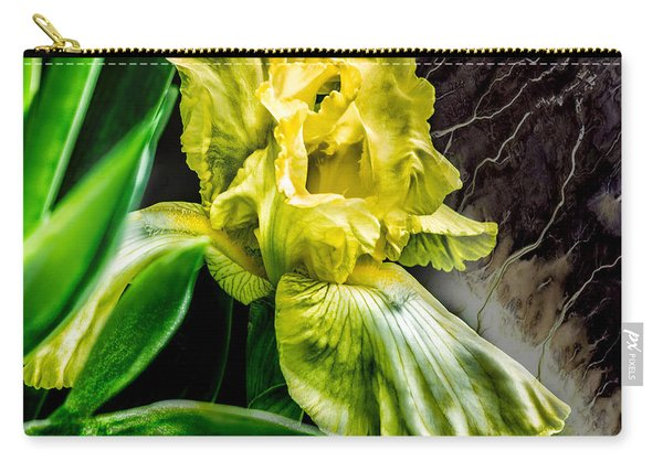 Iris In Bloom Two Carry-all Pouch