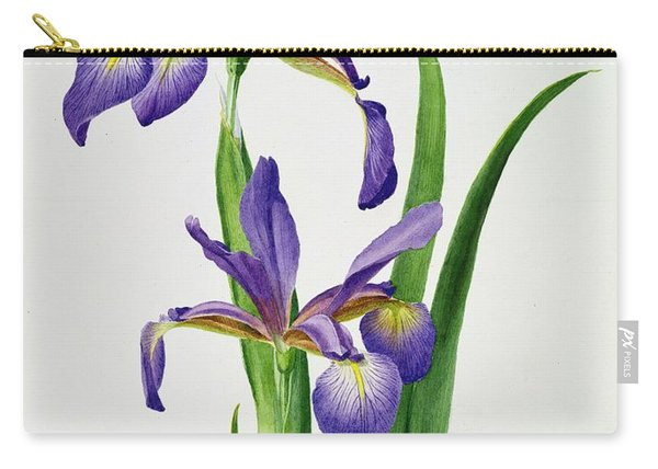 Iris Monspur Carry-all Pouch