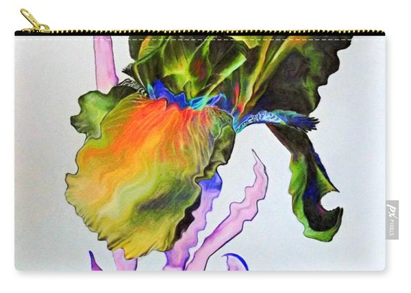 Iris Of A Different Color Carry-all Pouch