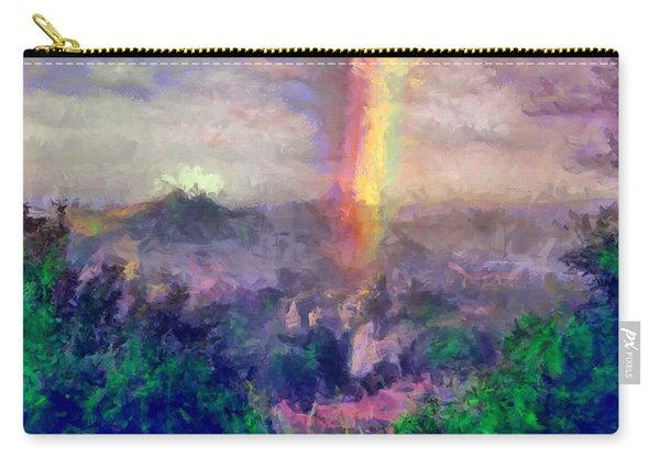 Irish Rainbow Carry-all Pouch