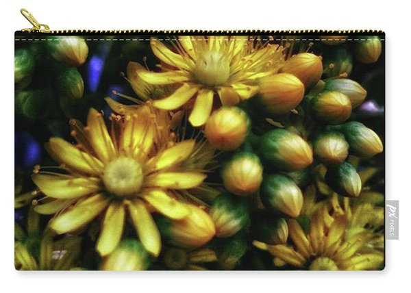 Carry-all Pouch featuring the photograph Irish Rose. Also Known As Pinwheel by Mr Photojimsf