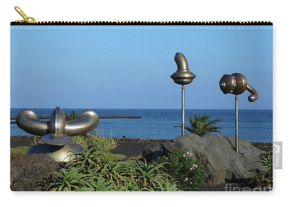 Iron Art By The Sea Carry-all Pouch