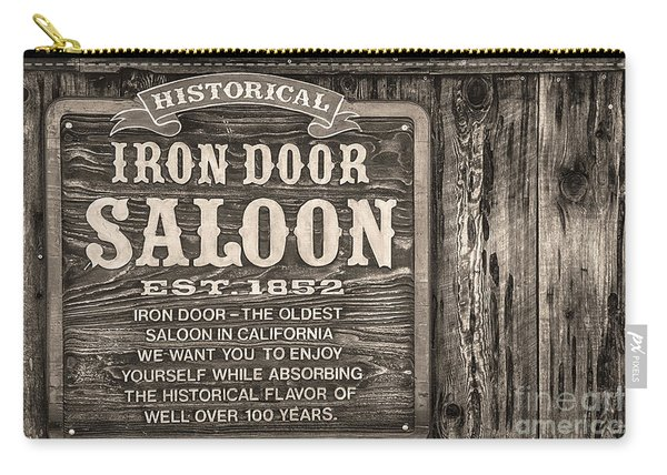 Iron Door Saloon 1852 Carry-all Pouch