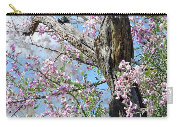 Ironwood In Bloom Carry-all Pouch