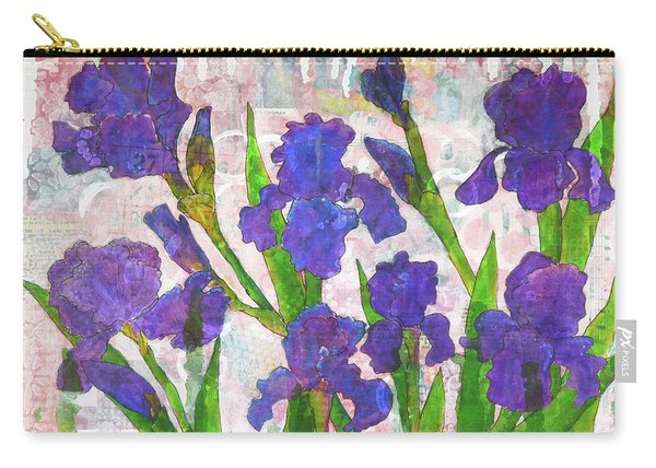 Irresistible Irises Carry-all Pouch