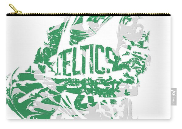Isaiah Thomas Boston Celtics Pixel Art 15 Carry-all Pouch