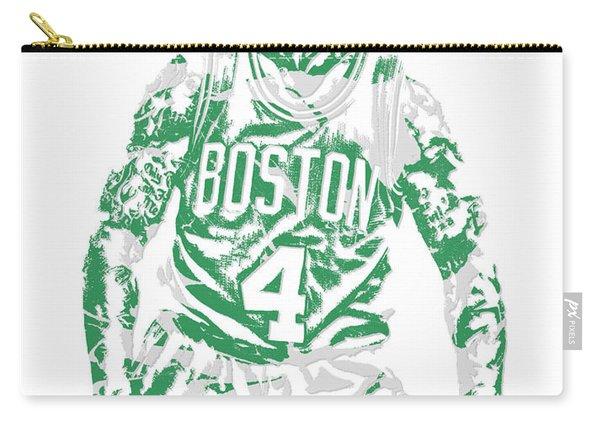 Isaiah Thomas Boston Celtics Pixel Art 16 Carry-all Pouch