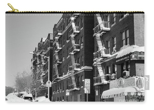 Isham Street Winter Carry-all Pouch