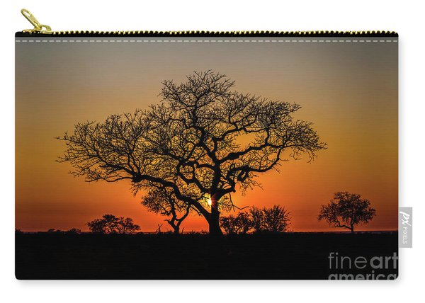 Carry-all Pouch featuring the photograph Isimangaliso Wetland Park by Benny Marty