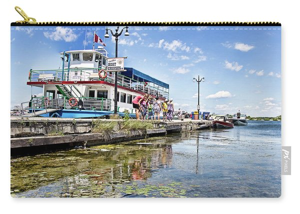 Island Princess At Harbour Dock Carry-all Pouch