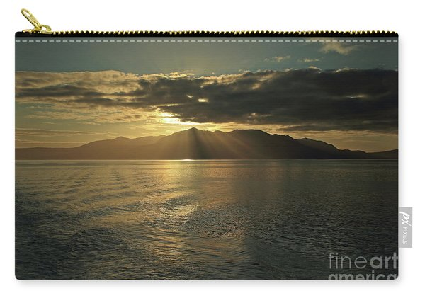 Isle Of Arran At Sunset Carry-all Pouch