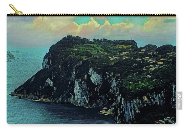 Isle Of Capri Italy Carry-all Pouch