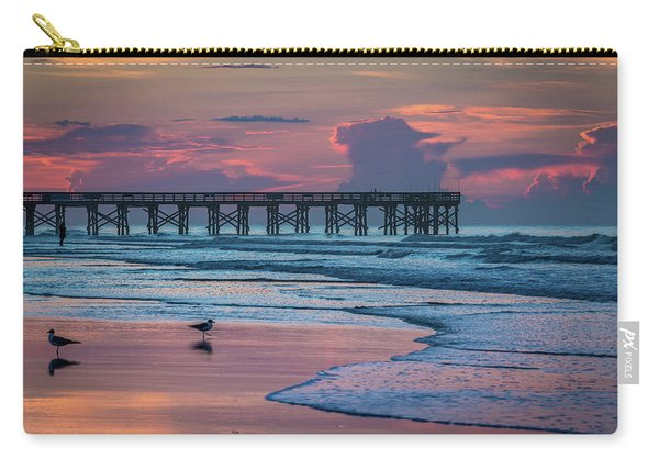 Isle Of Palms Morning Carry-all Pouch