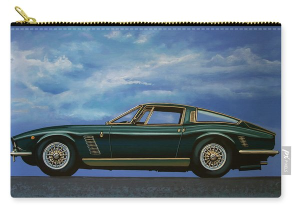 Iso Grifo Gl 1963 Painting Carry-all Pouch
