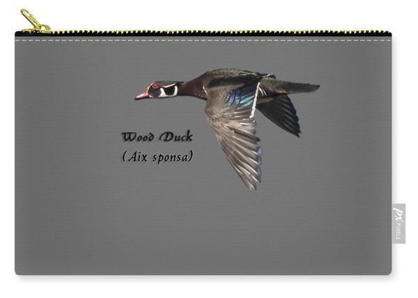 Isolated Wood Duck 2017-1 Carry-all Pouch