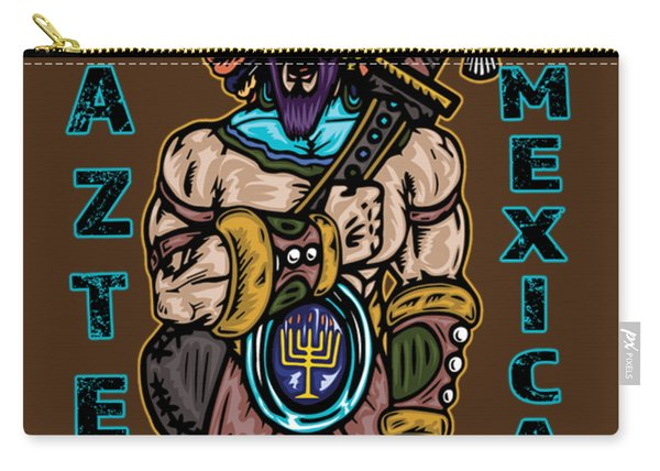 Issachar Aztec Warrior Carry-all Pouch