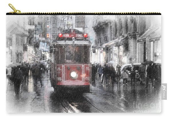 Istambool Historic Tram Carry-all Pouch