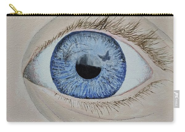 Carry-all Pouch featuring the painting ...it Begins by Kevin Daly
