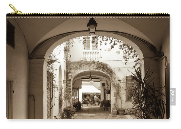 Italian Courtyard  Carry-all Pouch