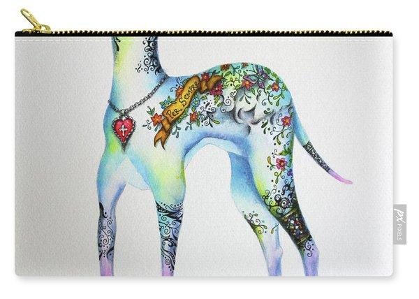Italian Greyhound Tattoo Dog Carry-all Pouch